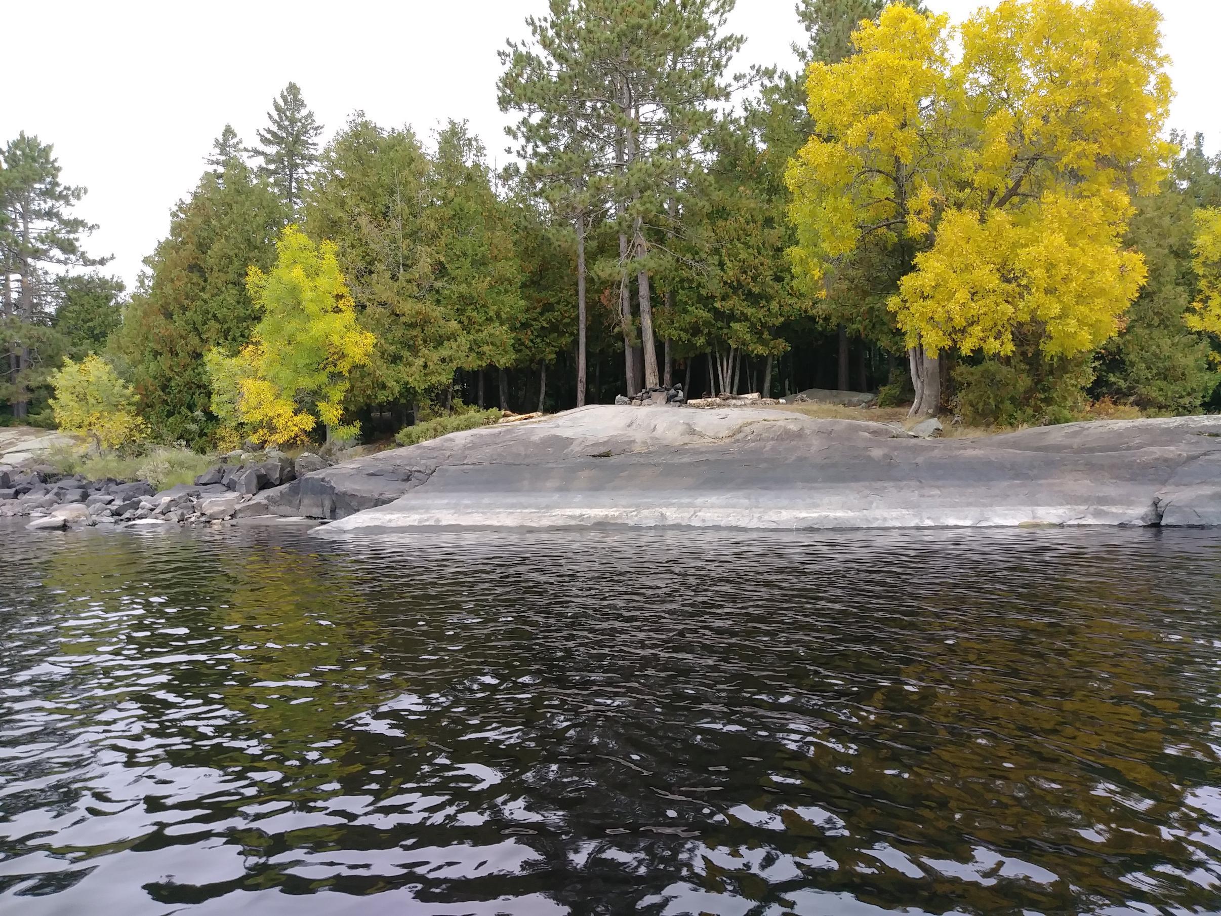 Gabbro Lake campsite