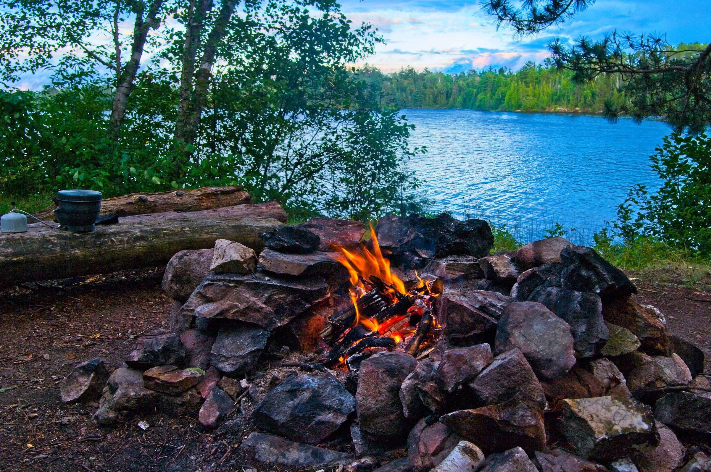 Carp Lake Campfire