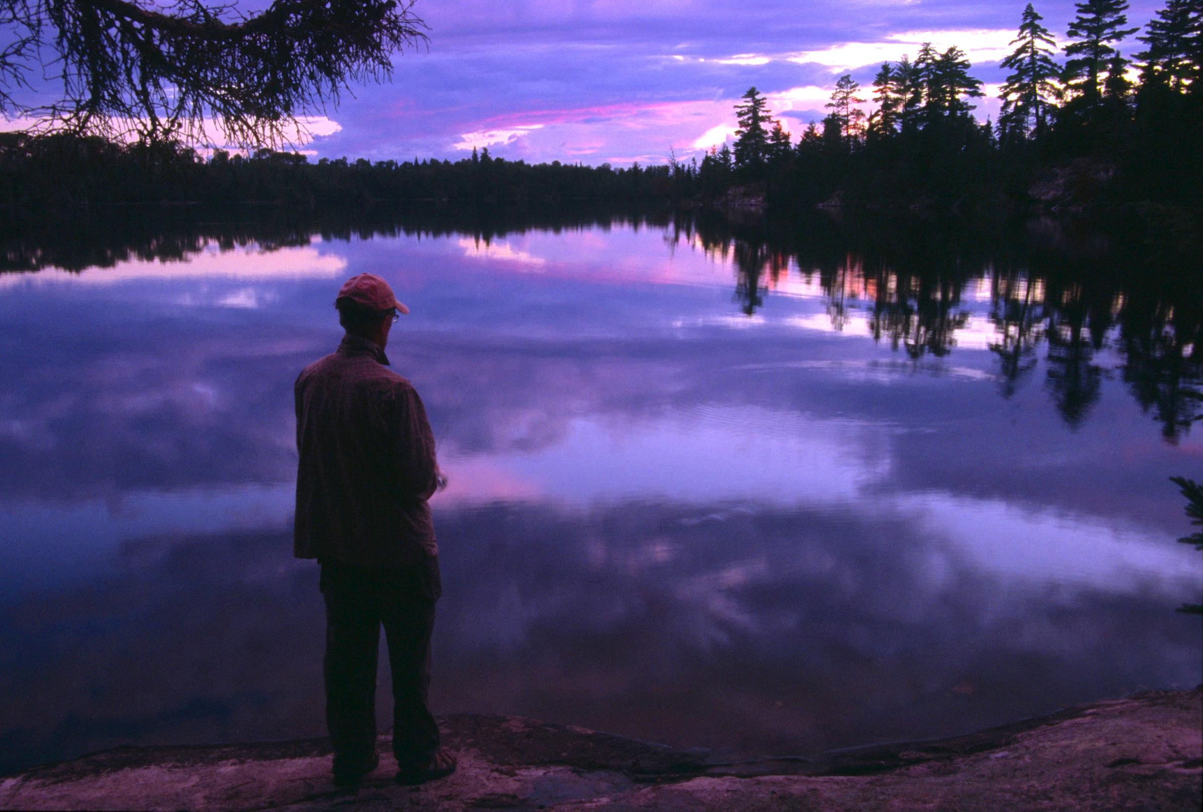 2010e Fishing at Sunset