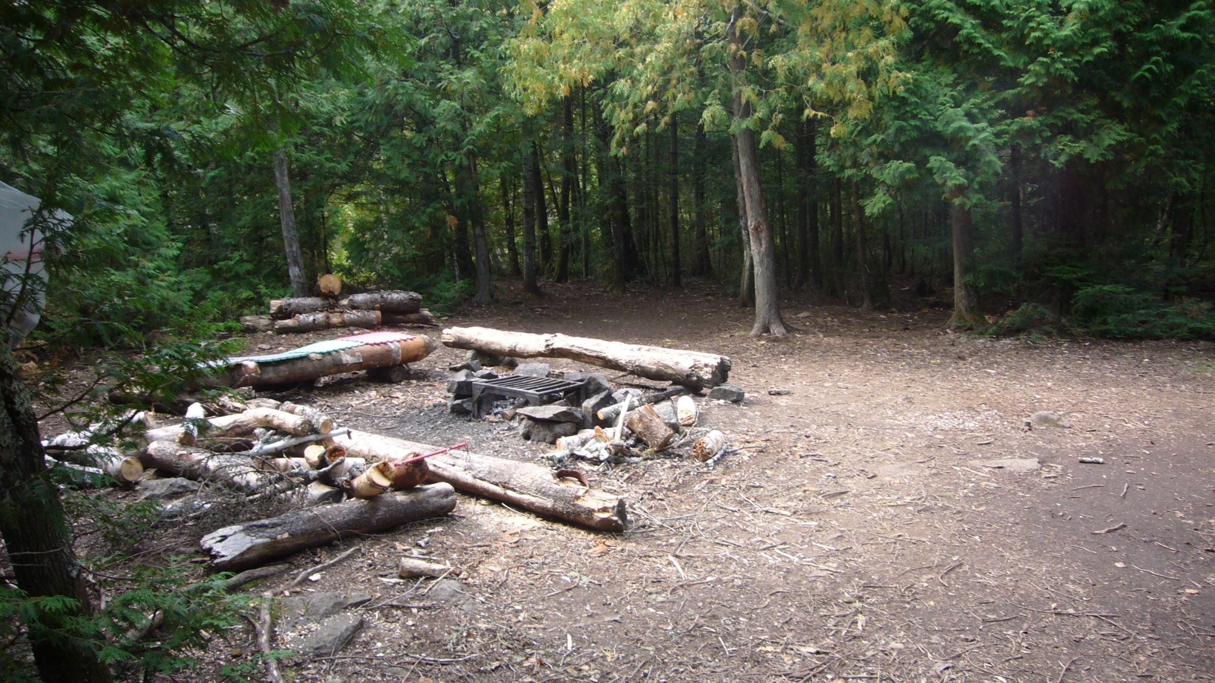 Campsite 868, Alton Lake