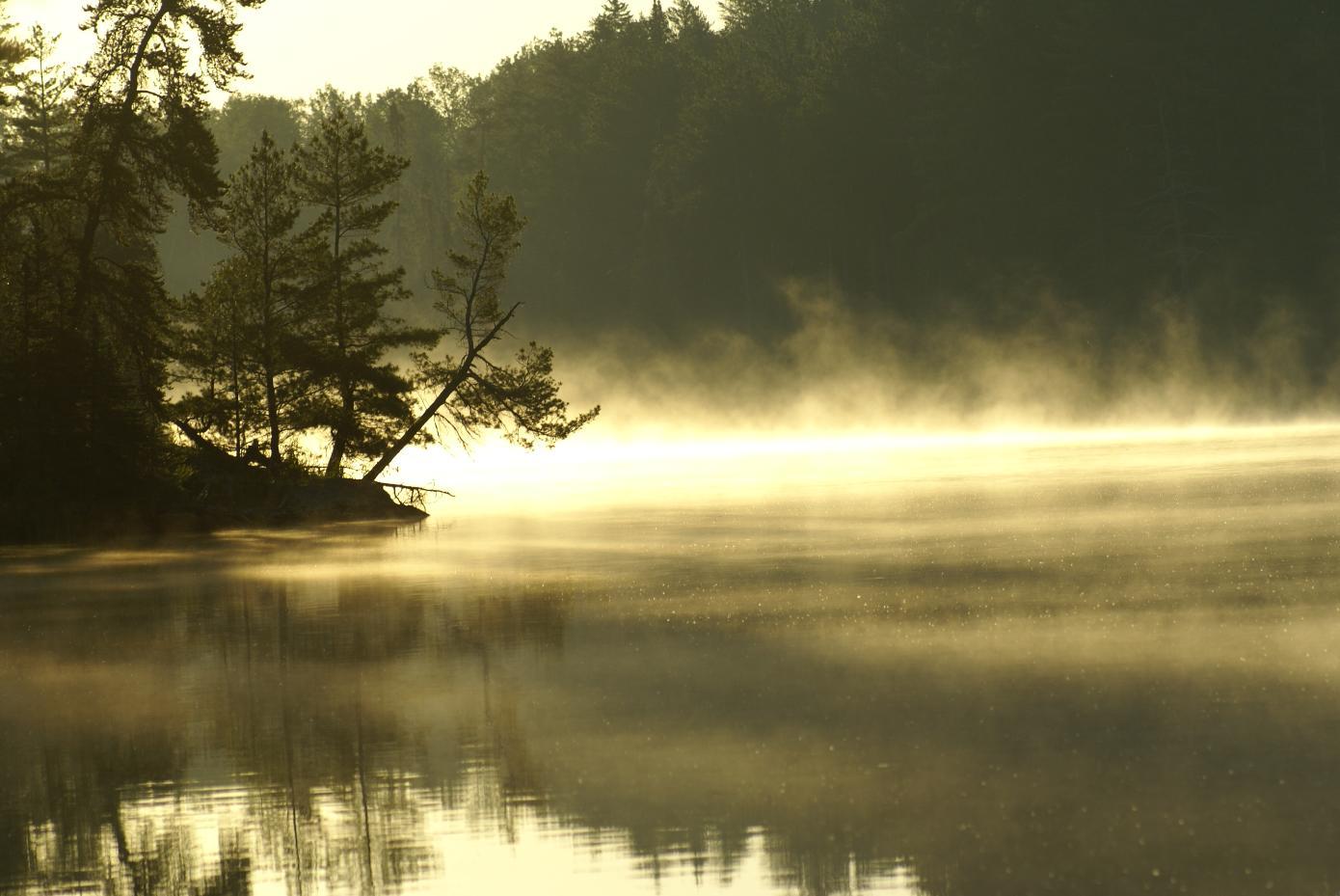 Sunrise on Clear Lake