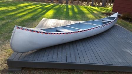 BWCA 17' Alumacraft Quetico Canoe (QT17C) Boundary Waters