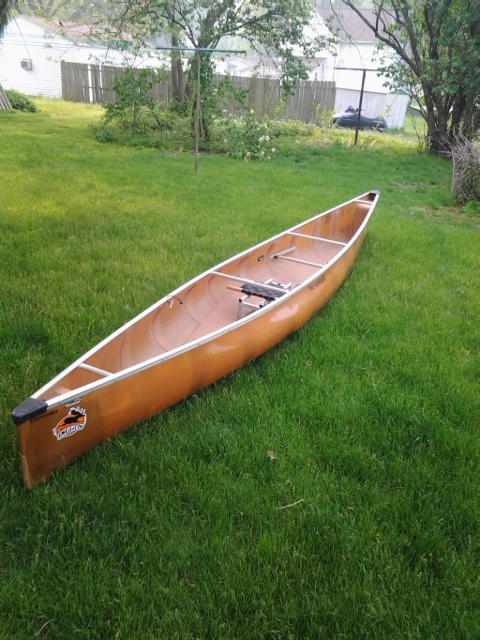 BWCA For Sale: Wenonah Encounter 17' Boundary Waters Items