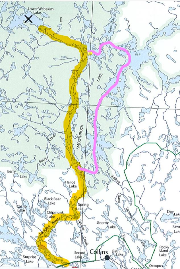 BWCA First timer route plan Boundary Waters Group Forum
