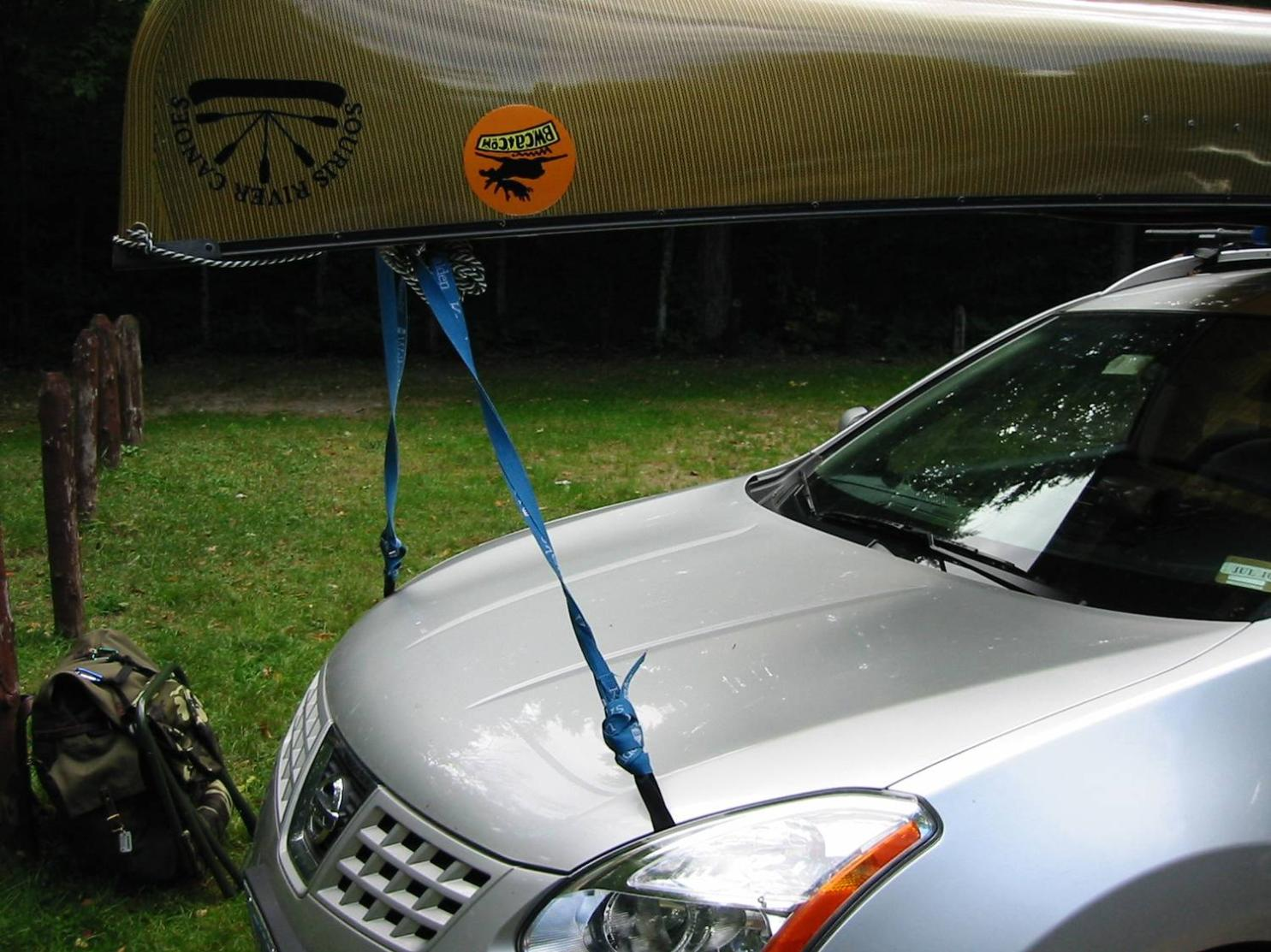 Bwca Car Topping A Canoe Boundary Waters Listening Point