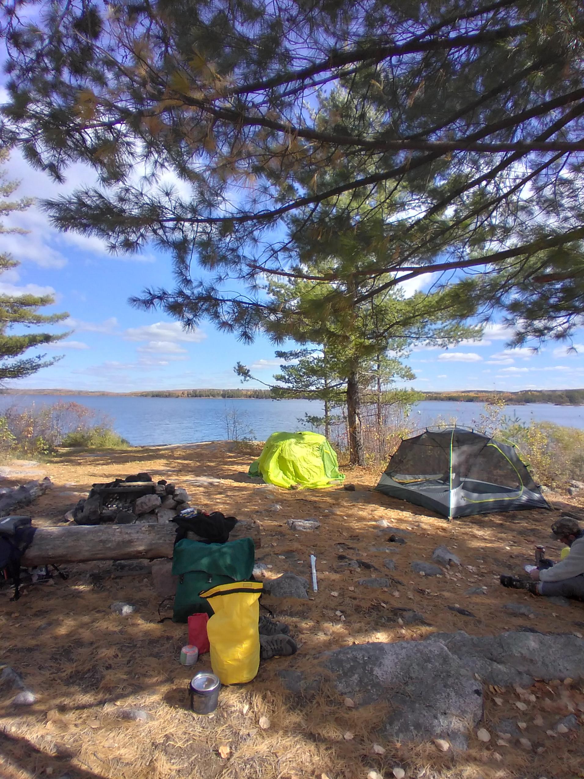 Sag Island camp