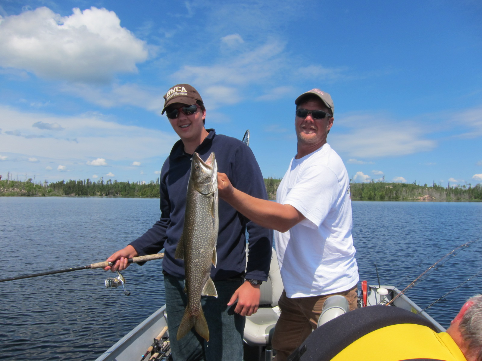Gunflint fishing