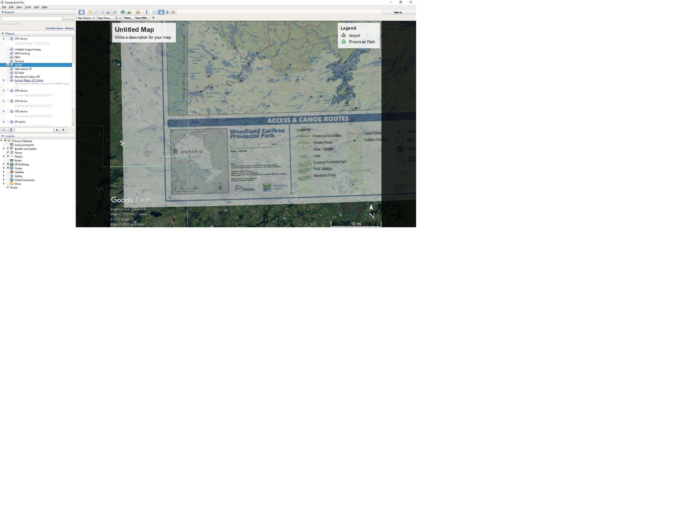 BWCA Printable BWCA and Quetico Canoe Maps Boundary Waters Listening