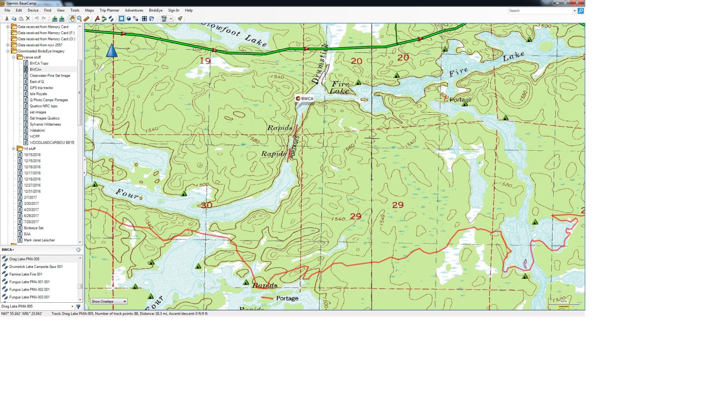 Bwca Fire Map.Bwca Lake 4 To Fire Lake On Drumstick Creek Boundary Waters Trip