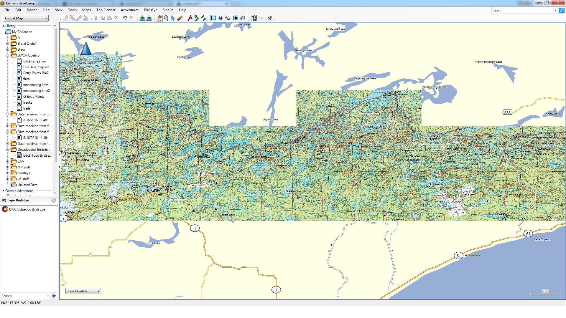Bwca Birdseye Topo Maps Boundary Waters Group Forum Gps
