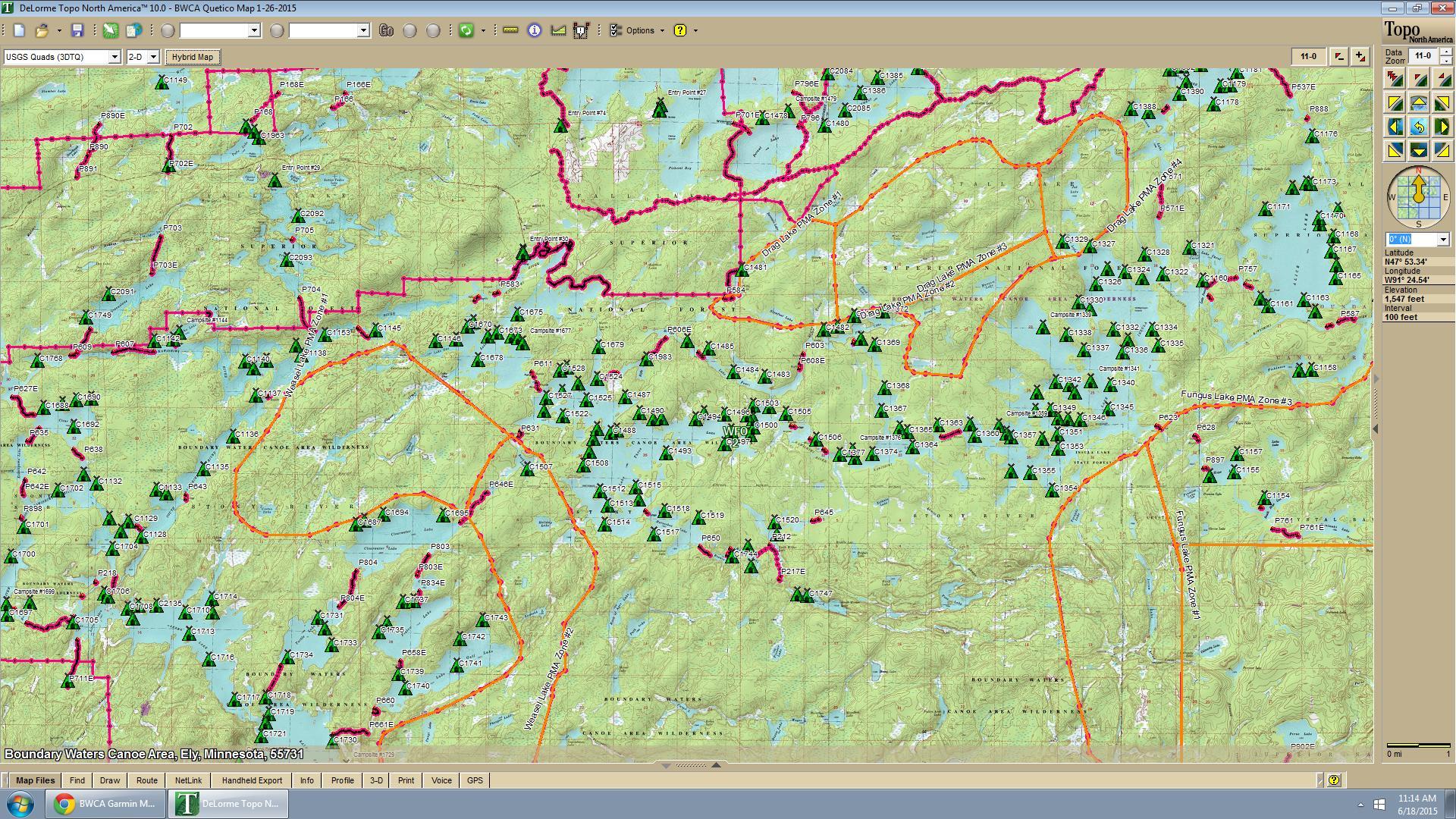BWCA Garmin Map purchase? Boundary Waters Group Forum: GPS