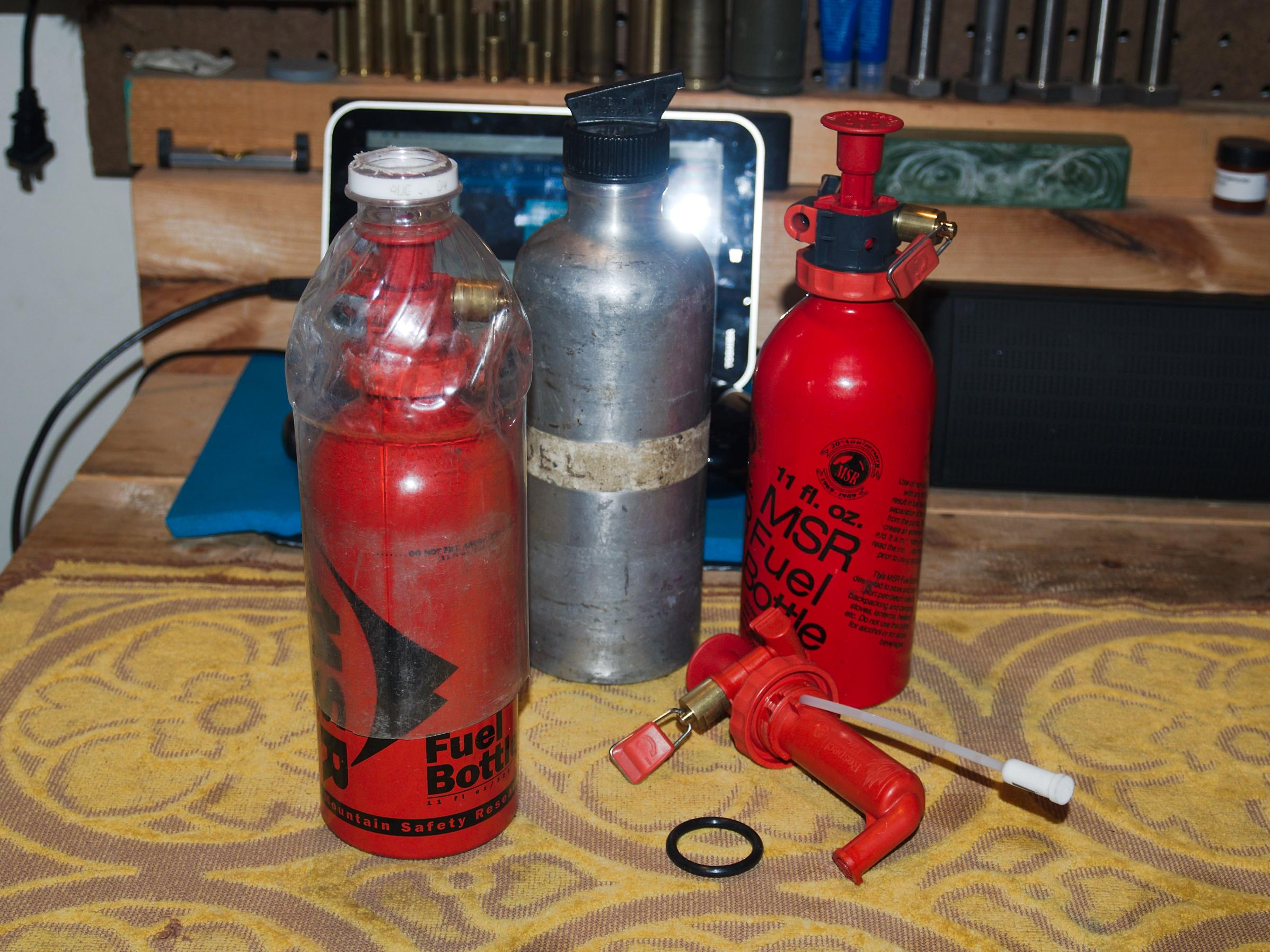 BWCA MSR fuel bottle replacements and pump stuff Boundary