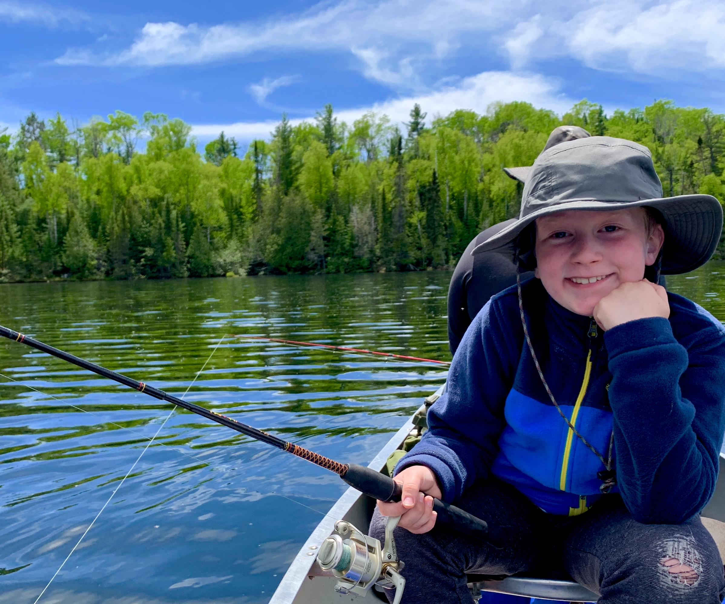 My 9 year old's first BWCA experience