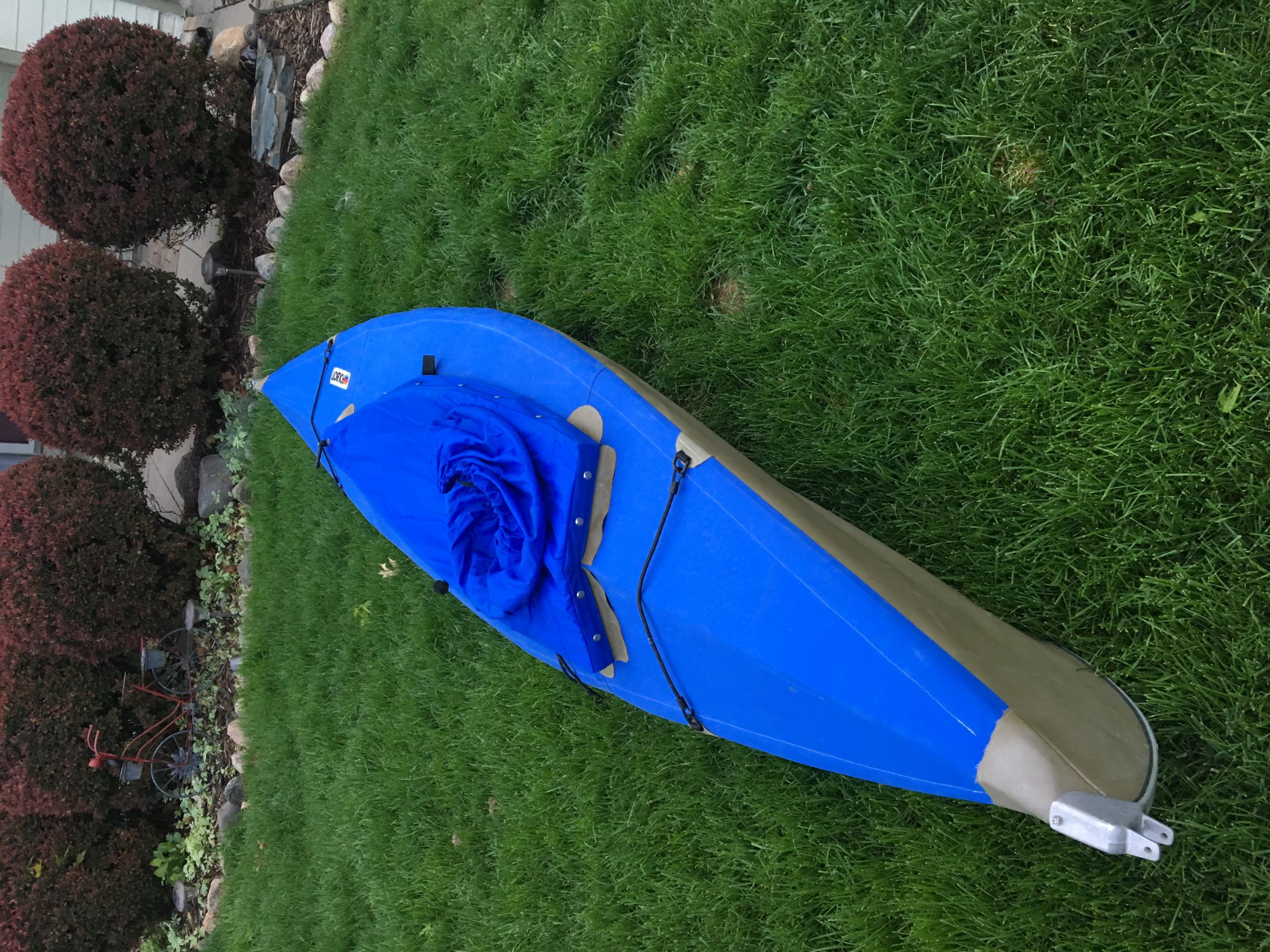 BWCA 12' Folbot Aleut folding kayak Boundary Waters Items