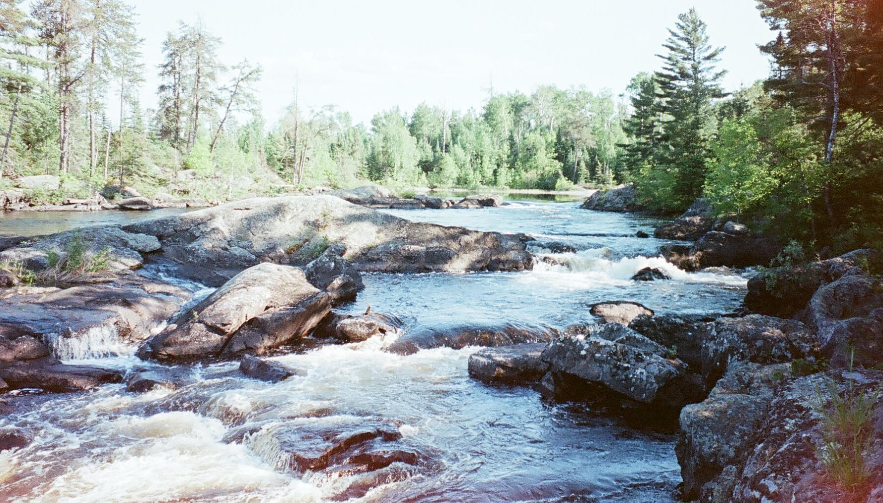 basswood river above falls