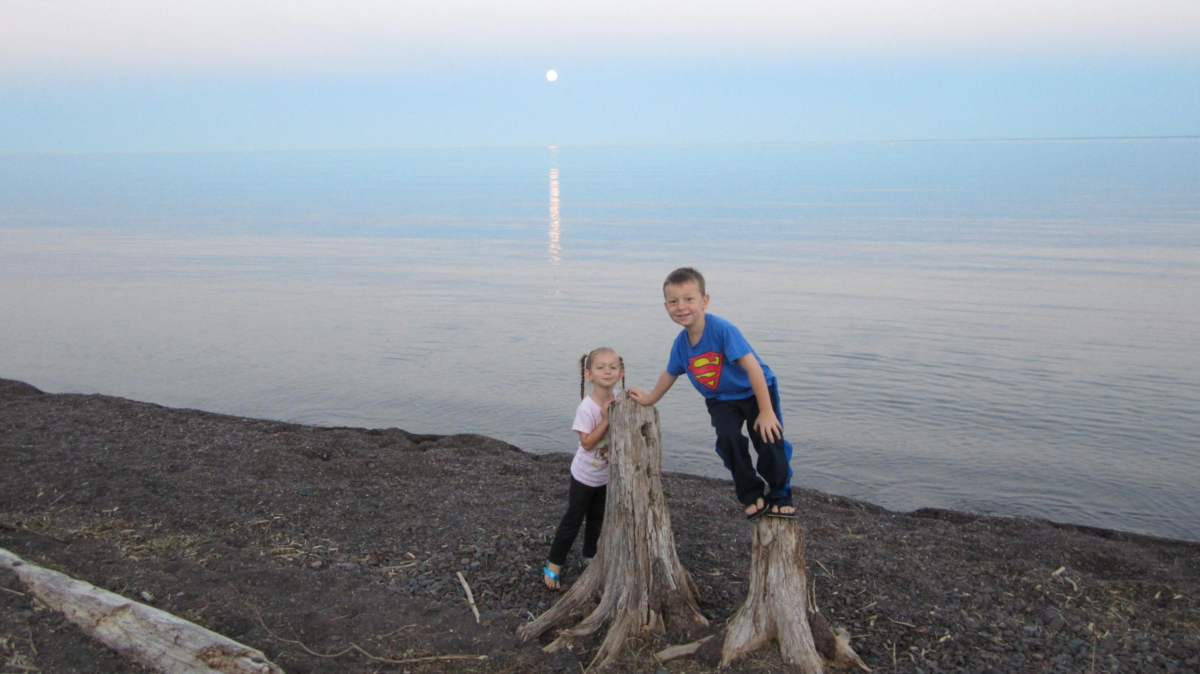 Blue Moon, 8/31/12, Lake Superior