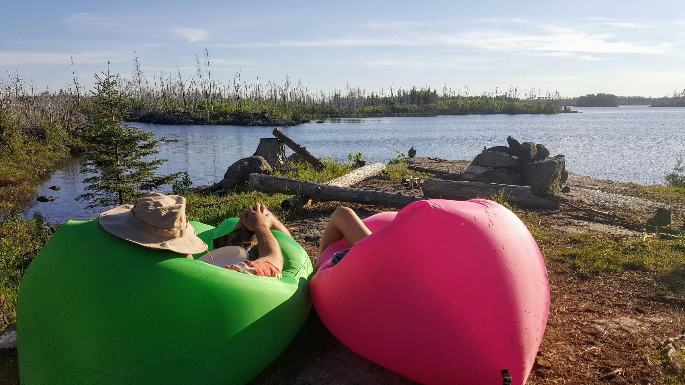 Lake 3 Campsite View