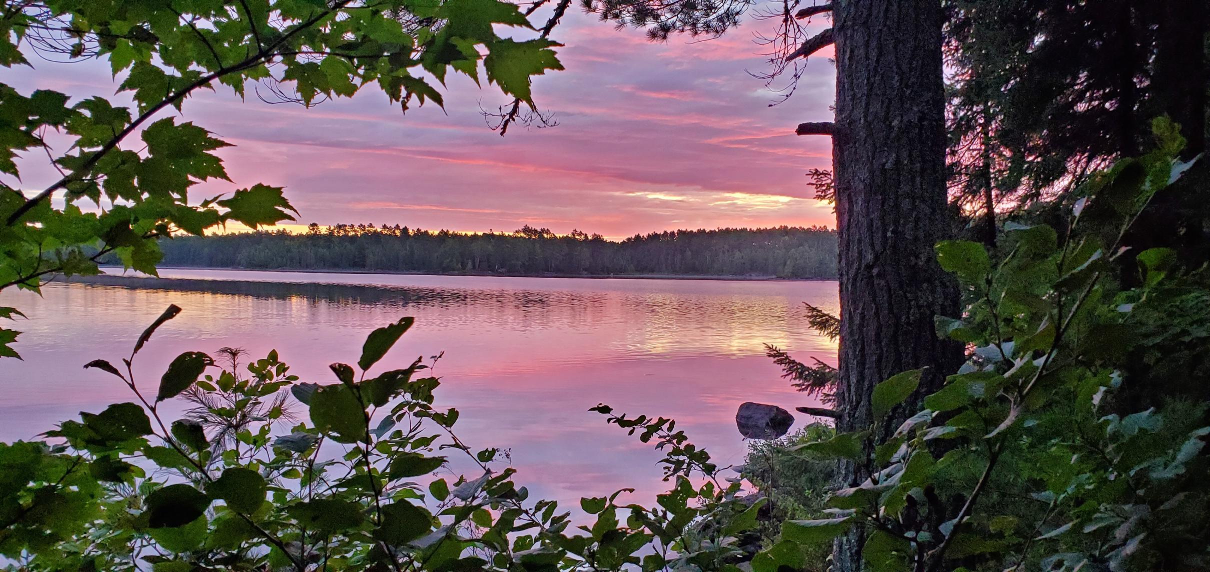 Sunrise on Cummings