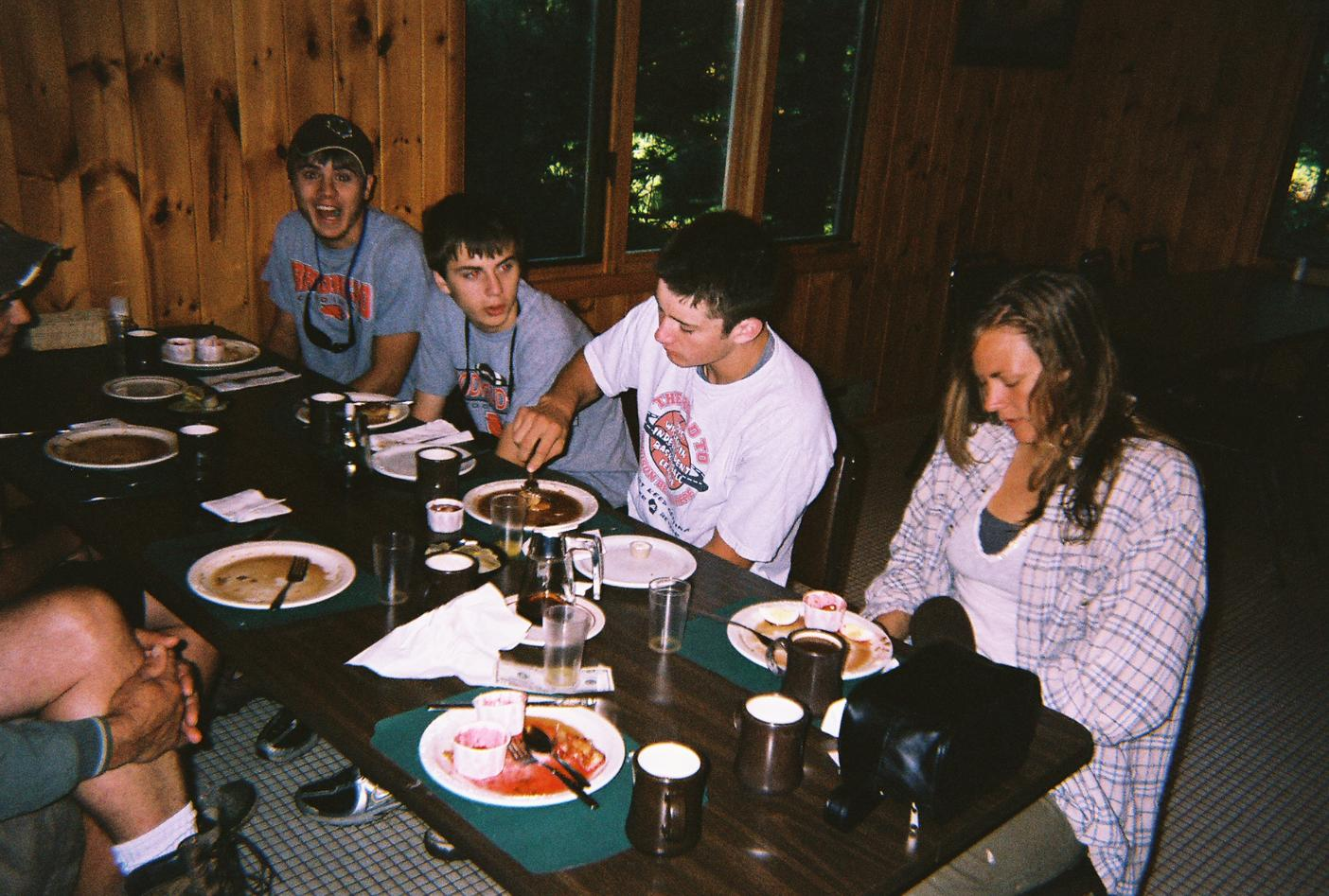 Breakfast at Tusc Lodge