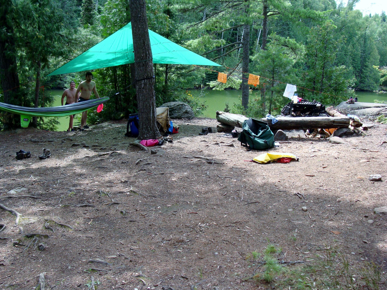 Little Caribou-campsite