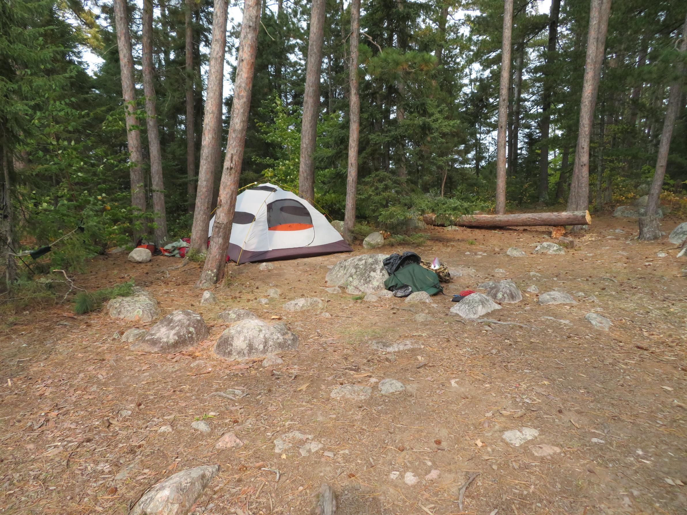 Cummings Lake-campsite
