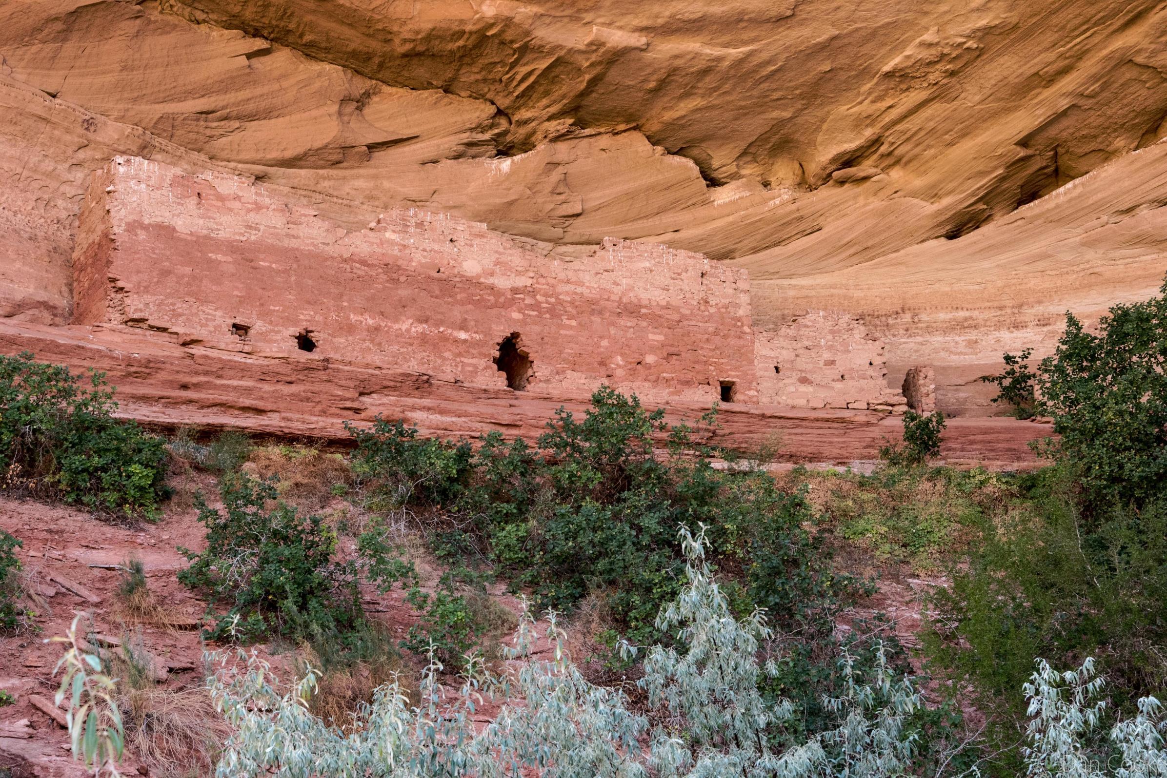 Old Cliff dweller ruins