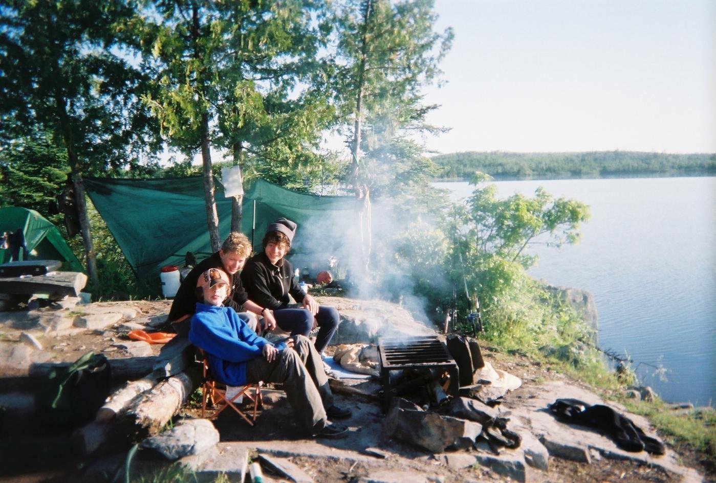 Ensign Campsite 2008