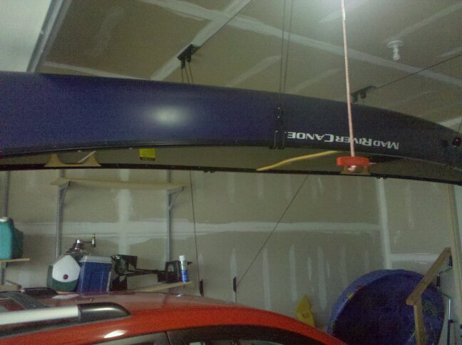 Bwca Hanging Canoe From Ceiling Boundary Waters Listening