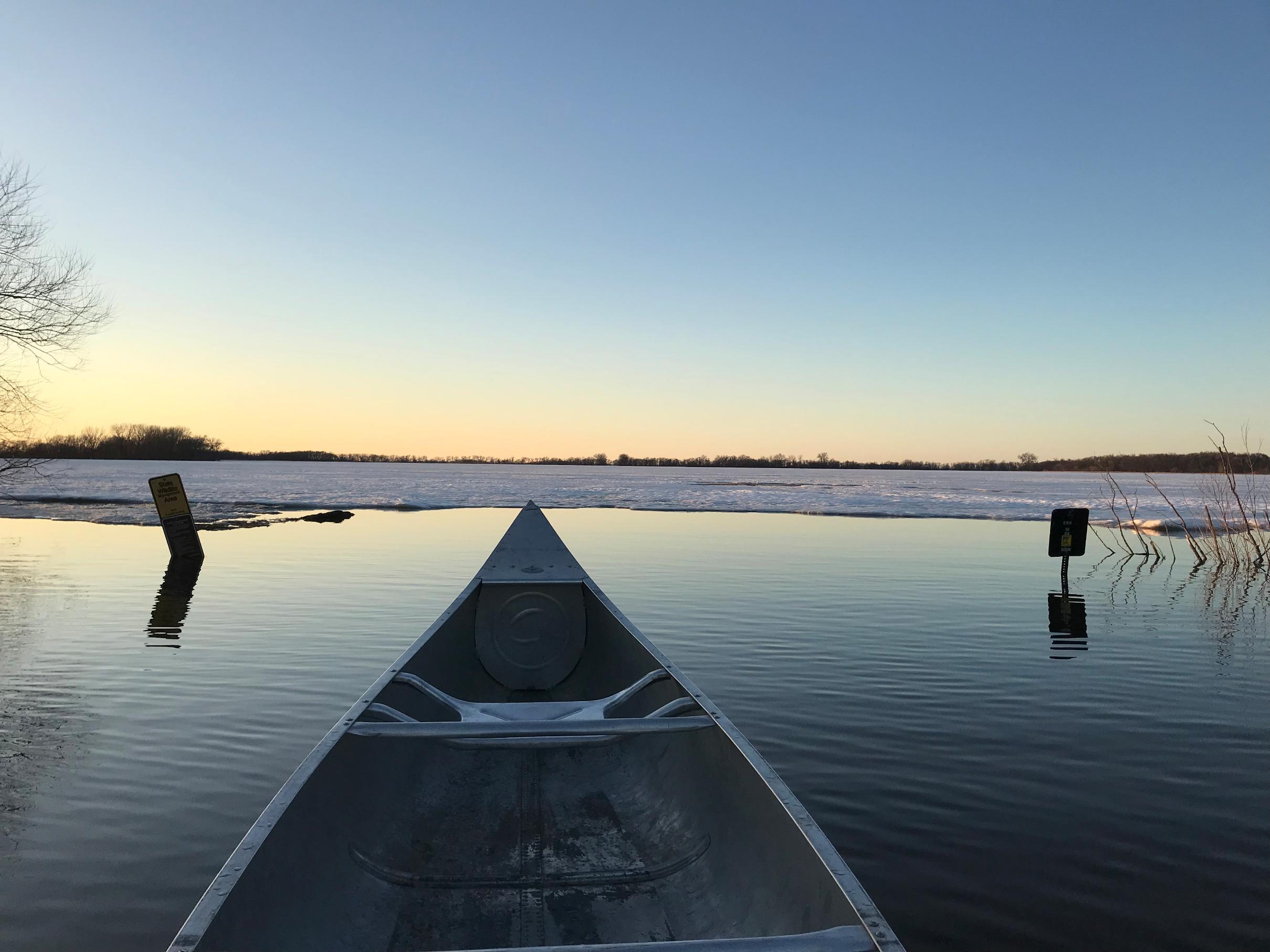 Walnut Lake landing