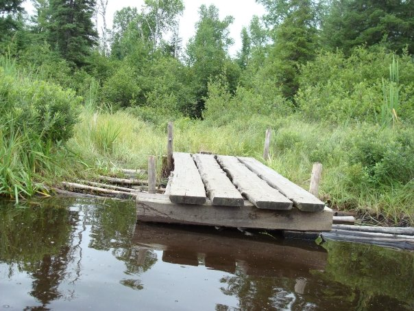 dock on bower trout