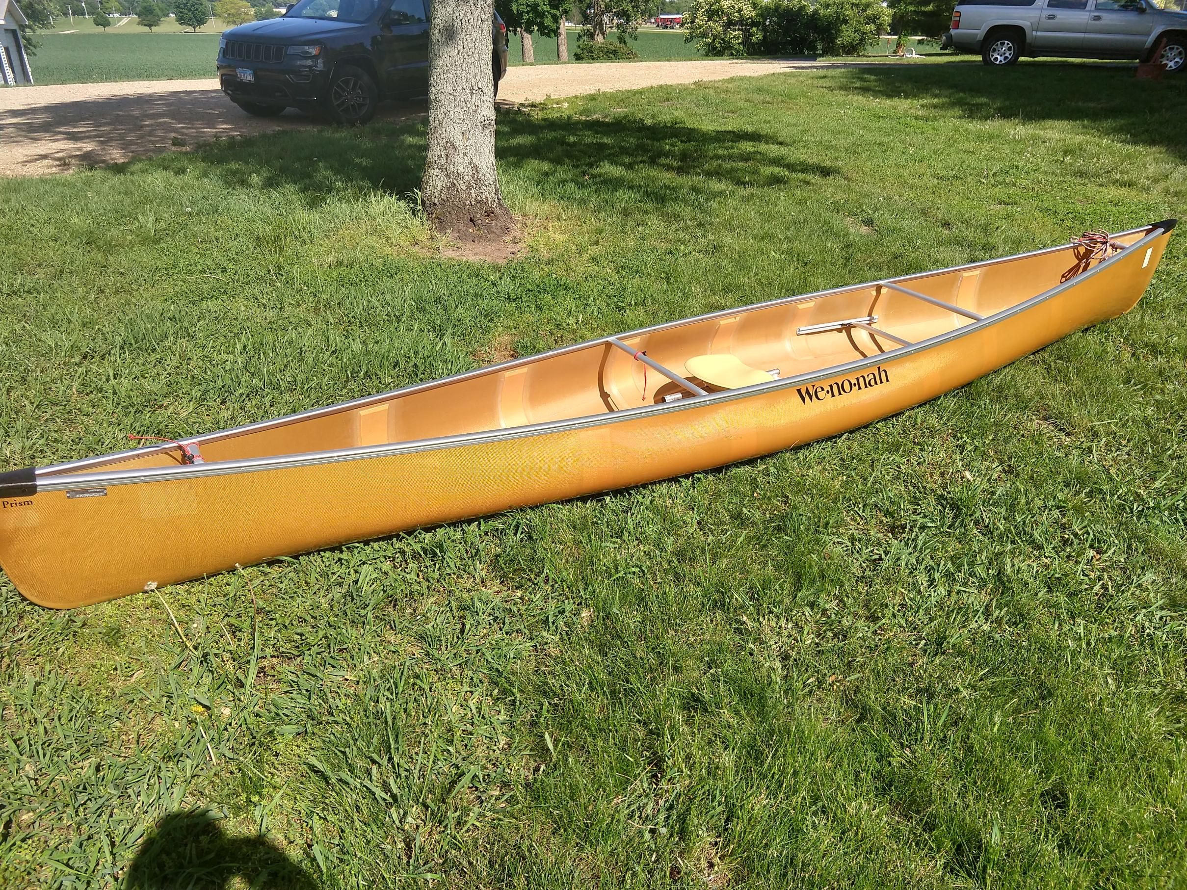 BWCA For Sale- Wenonah Prism- Solo Canoe Boundary Waters