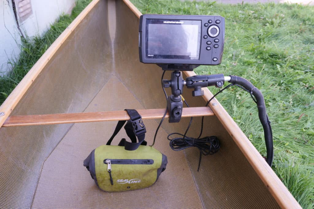 Humminbird Helix 5 with RAM mount system