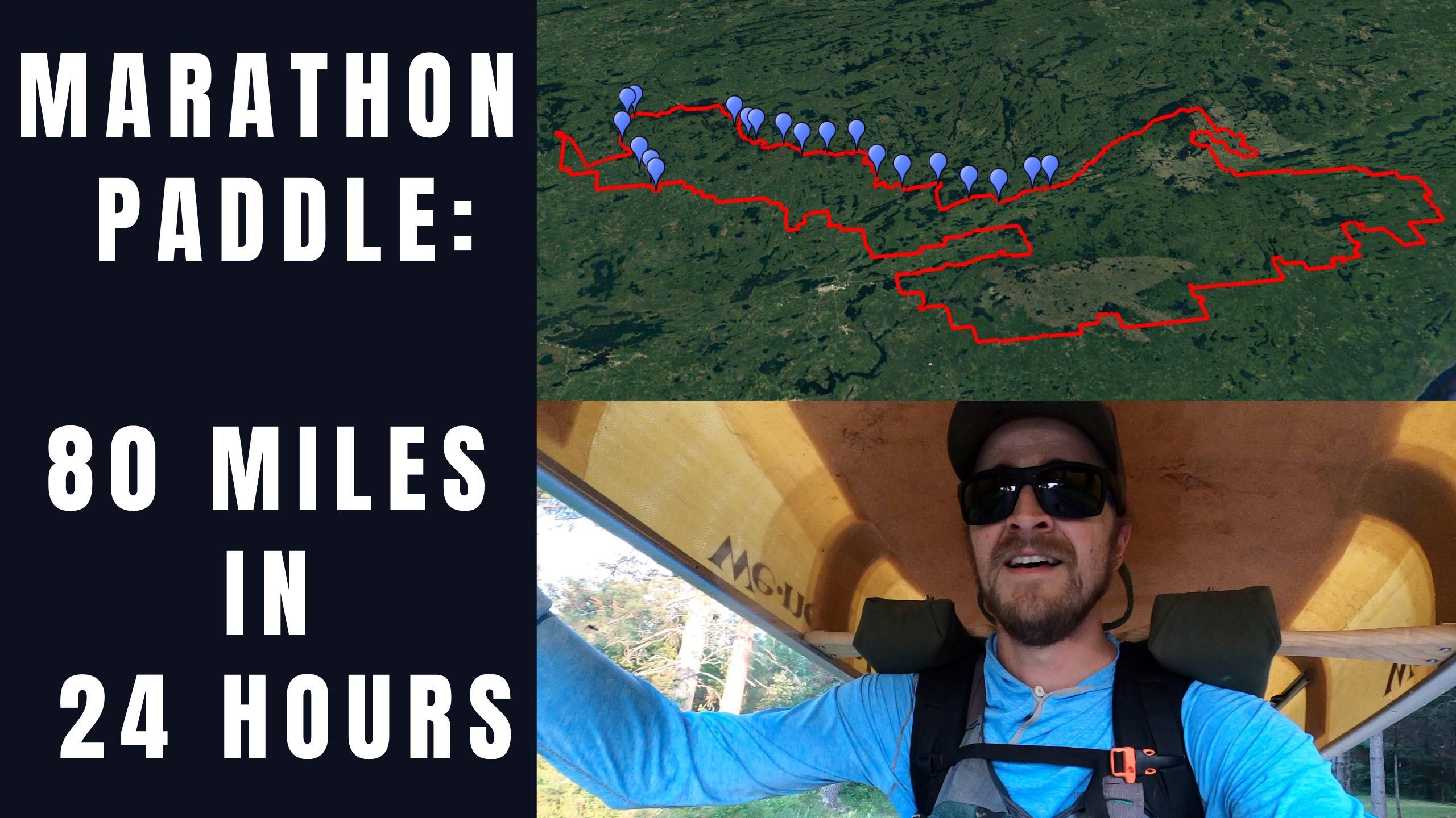 Little Indian Sioux to Knife Lake Marathon Paddle