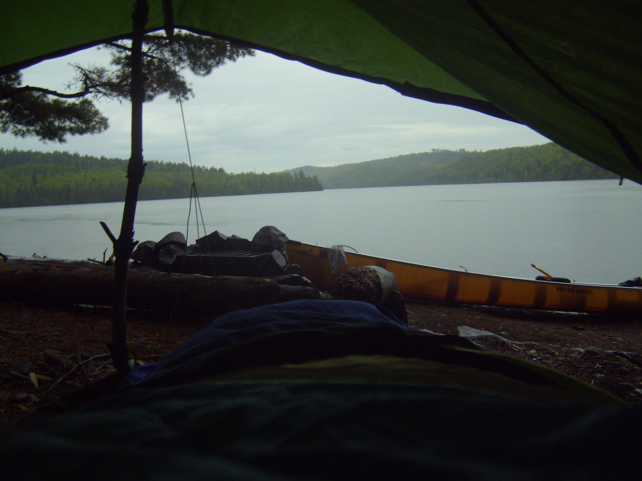 Caribou Lake Last Morning