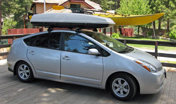 Bwca Roof Rack For A Prius Boundary Waters Gear Forum
