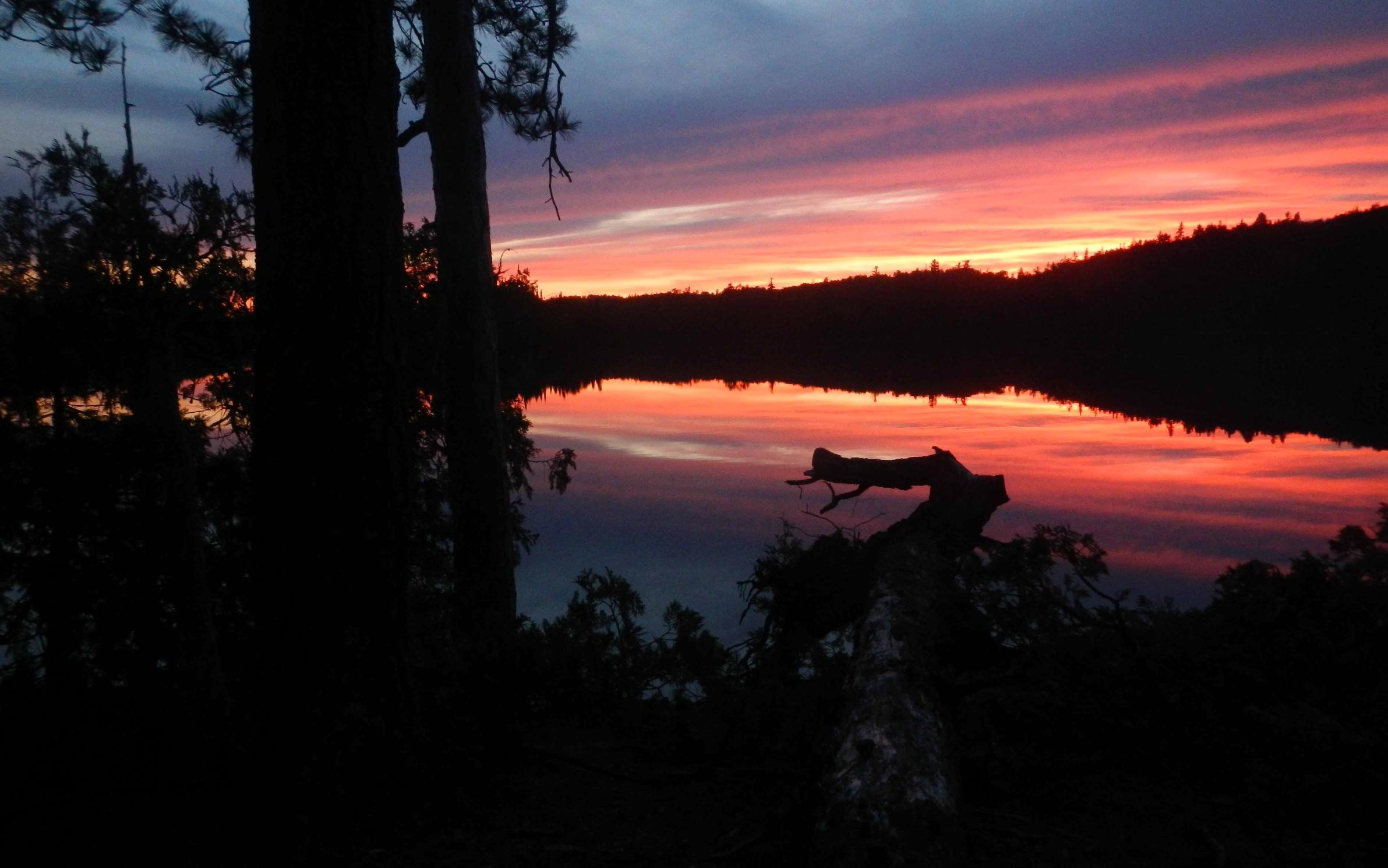 sunset Emerald Lake