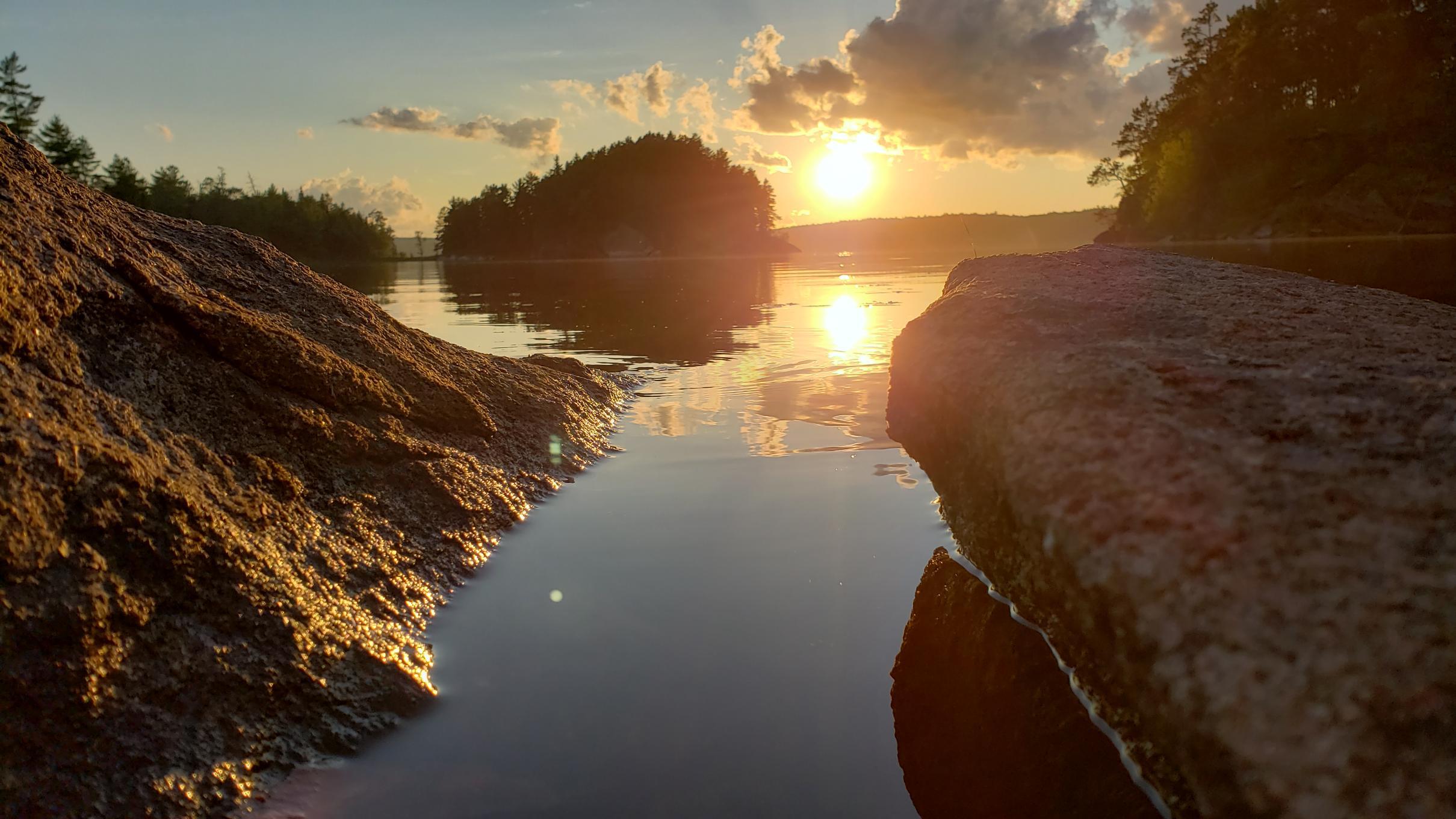 Sunset on Lac La Croix 2019