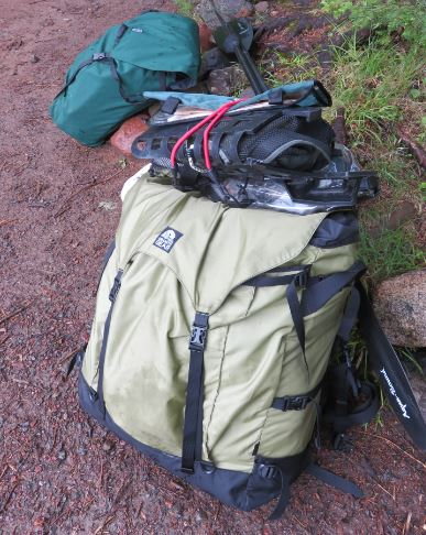 Portage pack readu to carry