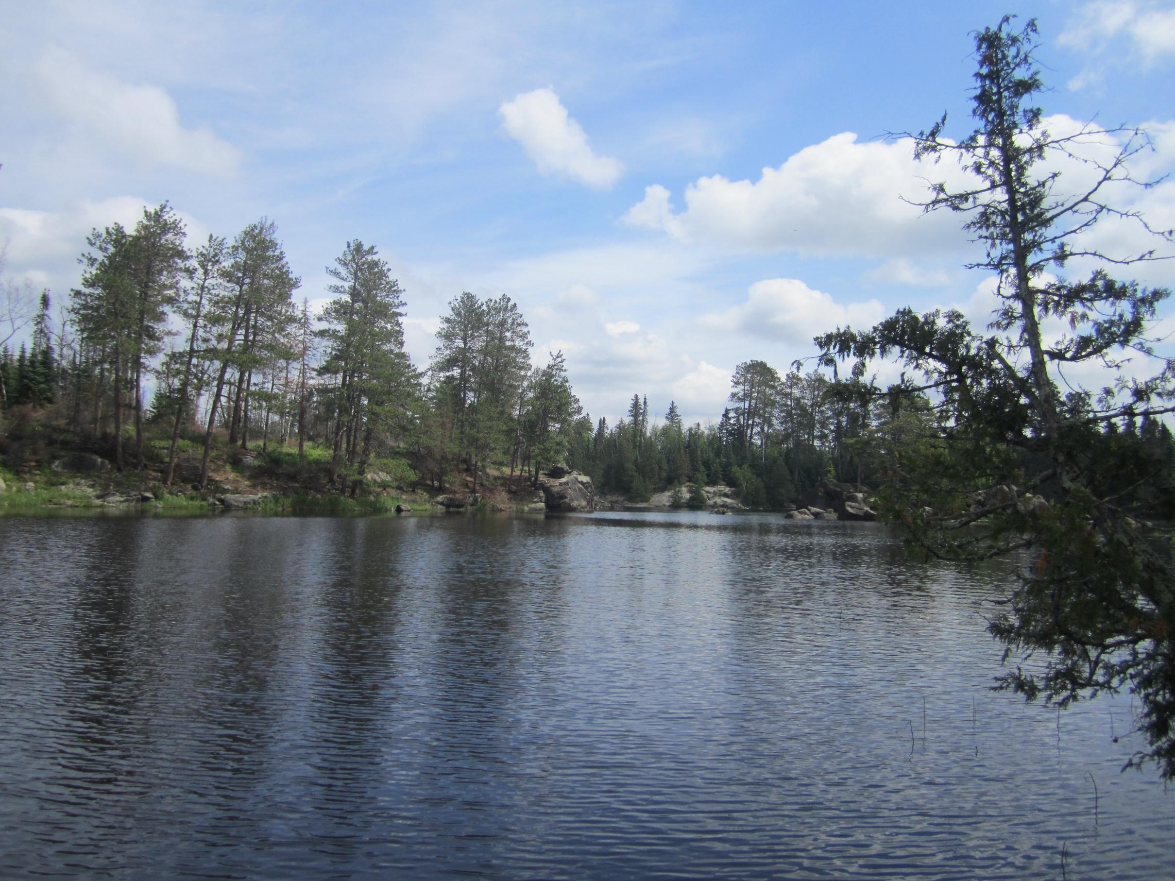 Lake 3 Campsite 2013
