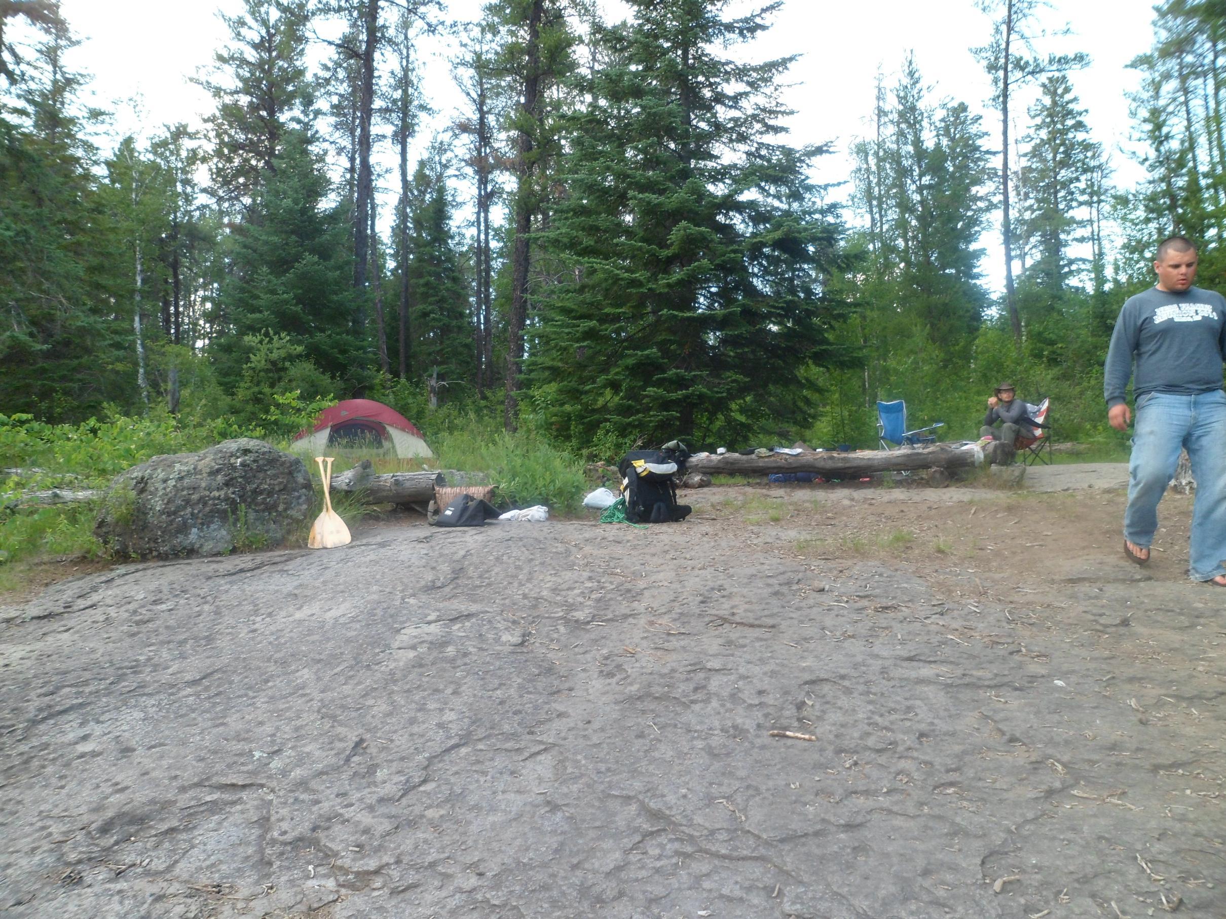 Bridge Lake Campsite 2012