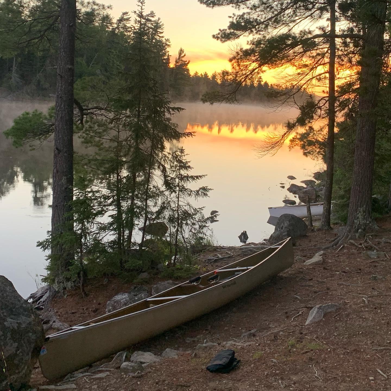 Crab Lake Sunrise