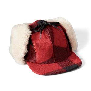 Filson Double Mackinaw Wool Hat - S - RdBlckBrch