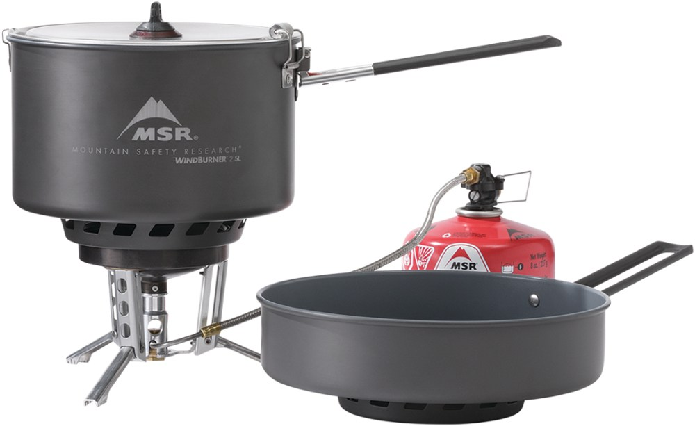 MSR WindBurner Stove System Combo - 2.5 Liter