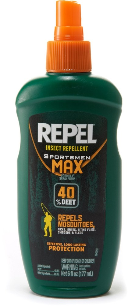 Repel Sportsmen Max Formula Pump Spray Insect Repellent - 40 Percent DEET - 6 fl.oz.