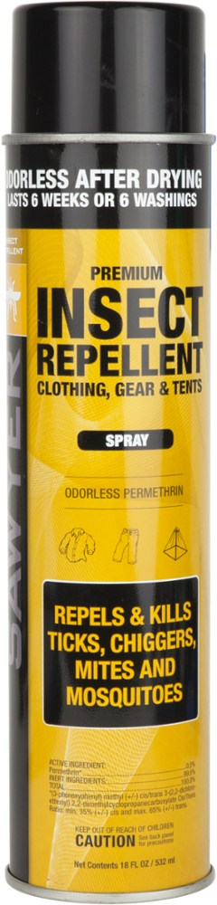 Sawyer Permethrin Clothing and Gear Insect Repellent - 18 fl. oz.