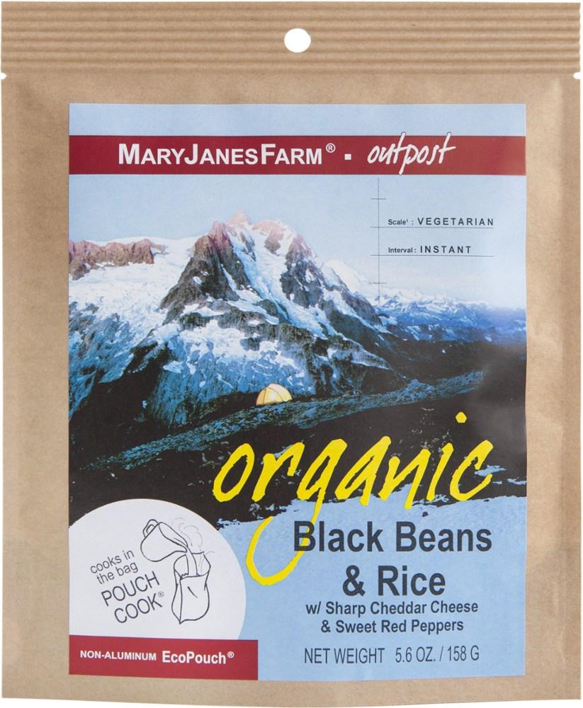 MaryJanesFarm Organic Black Beans and Rice - Single Serving