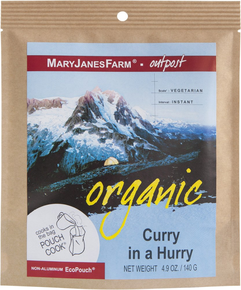 MaryJanesFarm Organic Curry In A Hurry - Single Serving