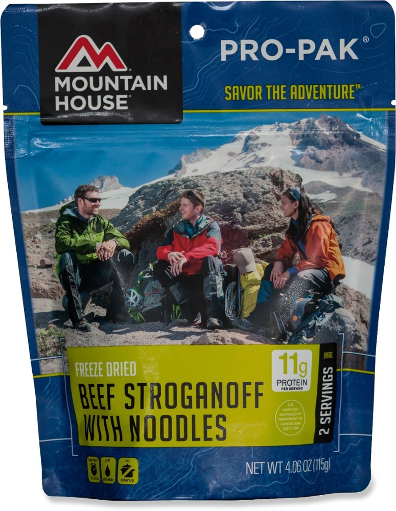 Mountain House Beef Stroganoff with Noodles Pro-Pak - 2 Servings
