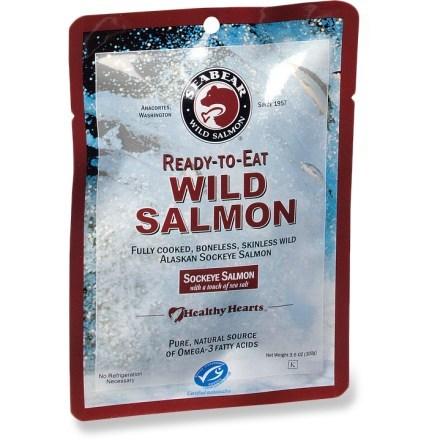 SeaBear Ready-To-Eat Wild Salmon - 3.5 oz.