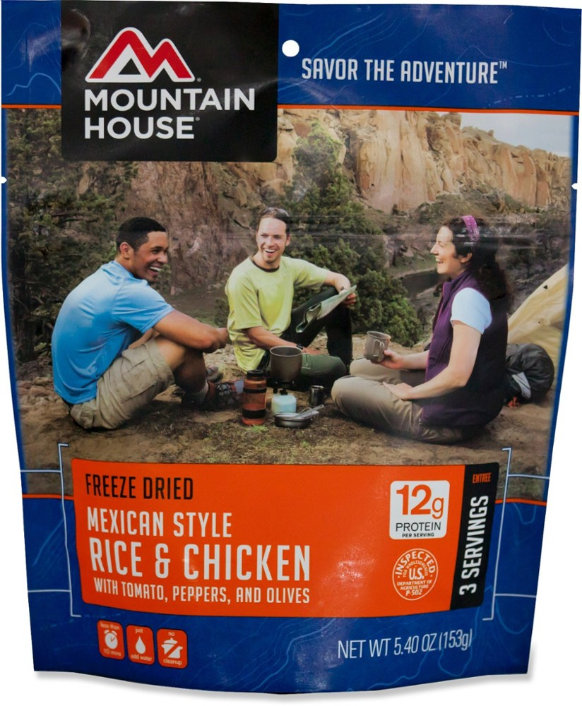 Mountain House Mexican-Style Rice and Chicken - 3 Servings